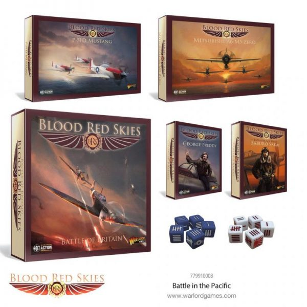 Warlord Games Blood Red Skies  Blood Red Skies Blood Red Skies: Battle in the Pacific - 779910008 -