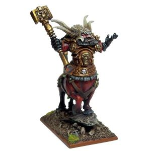 Mantic Kings of War  Abyssal Dwarves Abyssal Dwarf Halfbreed Lord - MGKWK73-1 - 5060208863499