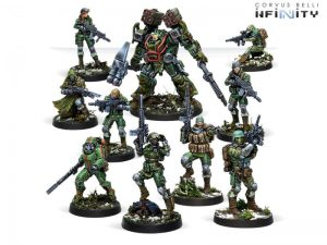 Corvus Belli Infinity  Ariadna Tartary Army Corps Action Pack - 281112-0851 - 2811120008511