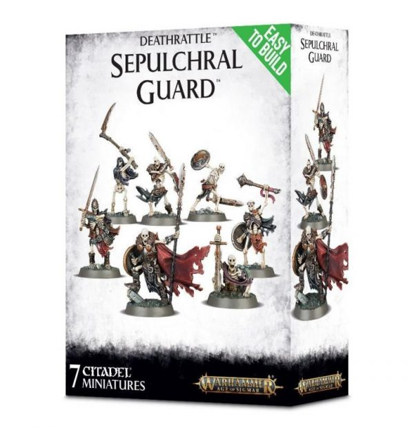 Games Workshop (Direct) Age of Sigmar  Age of Sigmar Direct Orders Deathrattle Sepulchral Guard - 99120207041 - 5011921085484