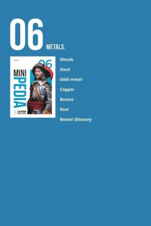 Scale75   Painting Guides Minipedia 06 - Metals - MiniPed06 -