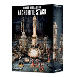 Games Workshop (Direct) Warhammer 40,000  40k Terrain Sector Mechanicus: Alchomite Stack - 99120199050 -
