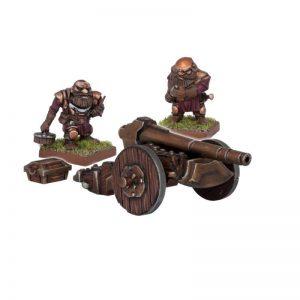 Mantic Kings of War  Dwarf Armies Dwarf Ironbelcher - MGKWD14-1 - 5060208862195