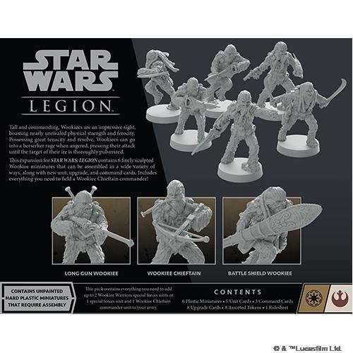 Fantasy Flight Games Star Wars: Legion  The Galactic Republic - Legion Star Wars Legion: Wookiee Warriors (2021) - FFGSWL83 - 841333113278