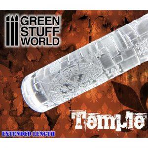 Green Stuff World   Rolling Pins Rolling Pin TEMPLE - 8436554363735ES - 8436554363735