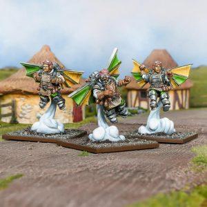 Mantic Kings of War  Halflings Halfling Ej Grenadier Regiment - MGKWHF302 - 5060469667287