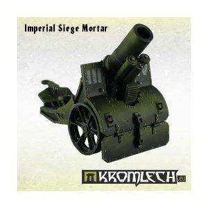 Kromlech   Imperial Guard Model Kits Imperial Siege Mortar - KRM026 - DUPLICATEKRM026
