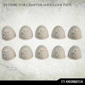 Kromlech   Legionary Conversion Parts Retributor Chapter Shoulder Pads (10) - KRCB248 - 5908291070274