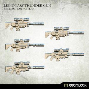 Kromlech   Legionary Conversion Parts Legionary Thunder Gun: Retribution Pattern (5) - KRCB204 - 5902216116054