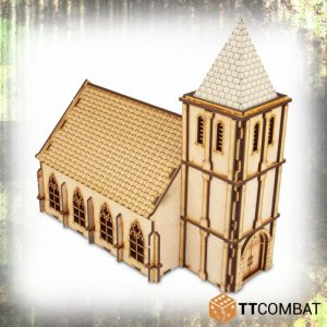 TTCombat   World War Scenics 25mm Chapel - TTSCW-WAR-033 -