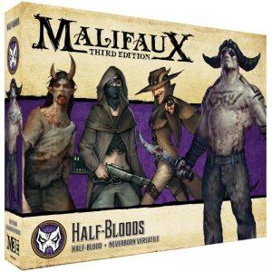 Wyrd Malifaux  Neverborn Neverborn Half Bloods - WYR23432 -
