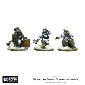 Warlord Games Bolt Action  Germany (BA) German Heer Forward Observer team (Winter) - 403012008 - 5060393705758