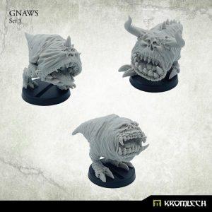 Kromlech   Orc Model Kits Gnaws Set 3 (3) - KRM137 - 5902216116511
