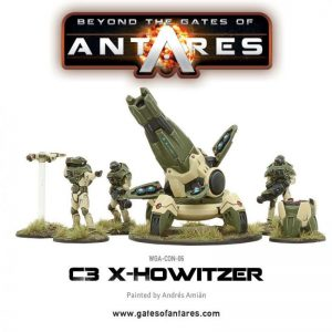 Warlord Games Beyond the Gates of Antares  SALE! Concord X-Howitzer - WGA-CON-06 - 5060393702993