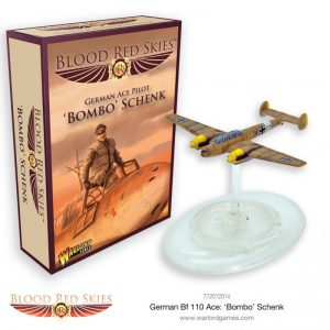 Warlord Games Blood Red Skies  Blood Red Skies Blood Red Skies: Bf 110 Ace 'Bombo' Schenk - 772012014 - 5060572502383