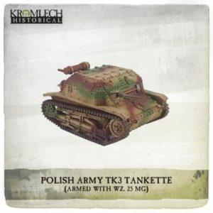 Kromlech   Vehicles & Vehicle Parts Polish Army TK3 Tankette - KHWW2016 - 5902216117662