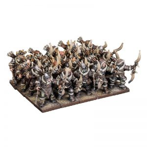 Mantic Kings of War  Northern Alliance Northern Alliance Pack Hunters Regiment - MGKWL304 - 5060469665726