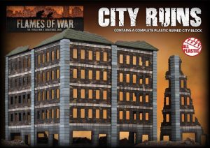 Battlefront   Battlefield in a Box Ruined City Building (Plastic) - BB300 - 9420020241862