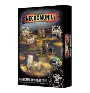 Games Workshop (Direct) Warhammer 40,000 | Necromunda  Necromunda Necromunda: Barricades & Objectives - 99120599001 - 5011921094578