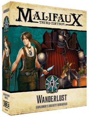 Wyrd Malifaux  The Explorer's Society Explorer's Society Wanderlust - WYR23804 - 812152032972