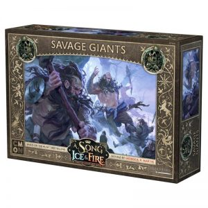 Cool Mini or Not A Song of Ice and Fire  Free Folk A Song of Ice and Fire: Free Folk Savage Giants - CMNSIF406 - 889696008589