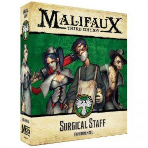 Wyrd Malifaux  Resurrectionists Surgical Staff - WYR23209 - 812152031517