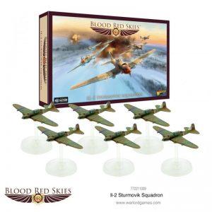 Warlord Games Blood Red Skies  Blood Red Skies Blood Red Skies: Il-2 Sturmovik squadron - 772211009 - 5060572503625