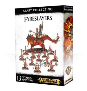 Games Workshop Age of Sigmar  Fyreslayers Start Collecting! Fyreslayers - 99120205029 - 5011921088171