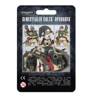 Games Workshop (Direct) Warhammer 40,000  Genestealer Cults Genestealer Cults Upgrades - 99070117001 - 5011921077243