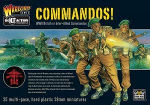 Warlord Games Bolt Action  Great Britain (BA) British Commandos! (25) - 402011007 - 5060200841709