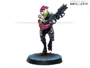 Corvus Belli Infinity  Combined Army Combined Army Shasvastii Seed-Soldiers (Combi Rifle) - 280698-0807 - 2806980008078