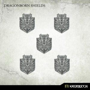 Kromlech   Legionary Conversion Parts Dragonborn Shields (5) - KRCB230 - 5902216118195