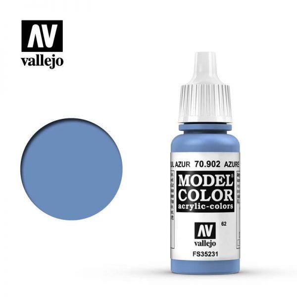 Vallejo   Model Colour Model Color: Azure - VAL902 - 8429551709026