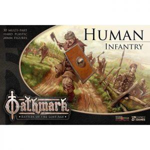 North Star Oathmark  Oathmark Oathmark Human Infantry - OAKP401 - 9781472896353
