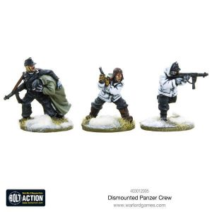 Warlord Games Bolt Action  Germany (BA) Dismounted Panzer crew - 403012005 - 5060393705499