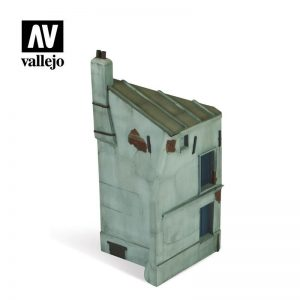 Vallejo   Vallejo Scenics Vallejo Scenics - Scenery: French House Corner - VALSC112 - 8429551987028