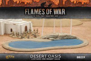 Gale Force Nine   Battlefield in a Box Flames of War: Desert Oasis - BB219 - 9420020234871