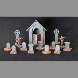 TTCombat   Wild West Scenics (28-32mm) Graveyard & Cemetary - WWS021 -