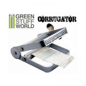 Green Stuff World   Texture Plates / Presses Miniature Model Corrugator - 8436554363513ES - 8436554363513