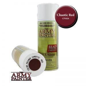 The Army Painter   Spray Paint AP Spray: Chaotic Red - APCP3026 - 2530261111118