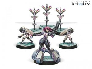 Corvus Belli Infinity  The Aleph Aleph Support Pack - 280831-0399 - 2808310003999