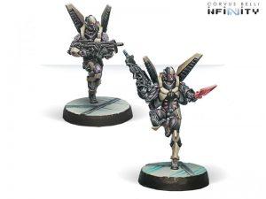 Corvus Belli Infinity  The Aleph Aleph Ekdromoi (HMG/Combi Rifle) - 280855-0638 - 2808550006385