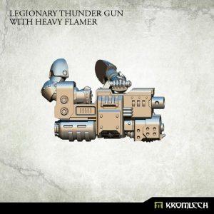 Kromlech   Legionary Conversion Parts Legionary Heavy Thunder Gun with Heavy Flamer (3) - KRCB166 - 5902216113794