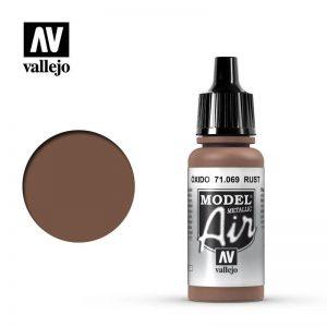 Vallejo   Model Air Model Air: Rust Metallic - VAL069 - 8429551710695