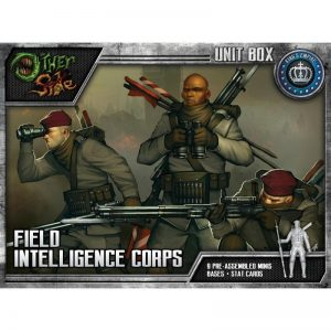 Wyrd The Other Side  King's Empire Field Intelligence Corps - WYR40112 - 812152030152