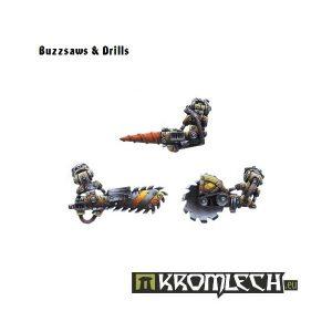 Kromlech   Orc Conversion Parts Buzzsaws & Drills (6) - KRCB047 - 5902216110458