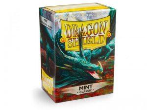 Dragon Shield   Dragon Shield Dragon Shield Sleeves Classic Mint (100) - DS100MNT - 5706569100254