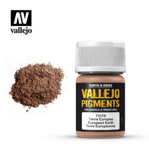 Vallejo   Pigments Vallejo Pigment - European Earth - VAL73119 - 8429551731195