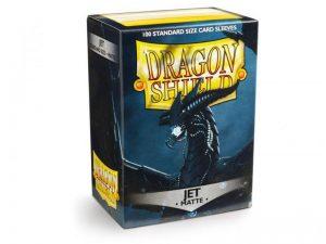 Dragon Shield   Dragon Shield Dragon Shield Sleeves Matte Jet (100) - DS100MJ - 5706569110246