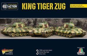 Warlord Games Bolt Action  Germany (BA) King Tiger Platoon - 402012019 - 5060393707806